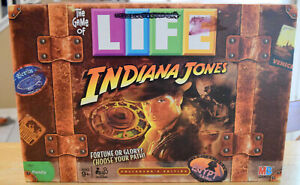 Indiana-Jones-Edition-The-Game-Of-Life-Board-Game-Replacement-Parts-Pieces-2008