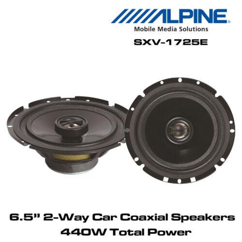 """Alpine SXV-1725E Altavoces coaxiales de 6.5/"""" 17 cm 2-Way coche 440 W potencia total"""