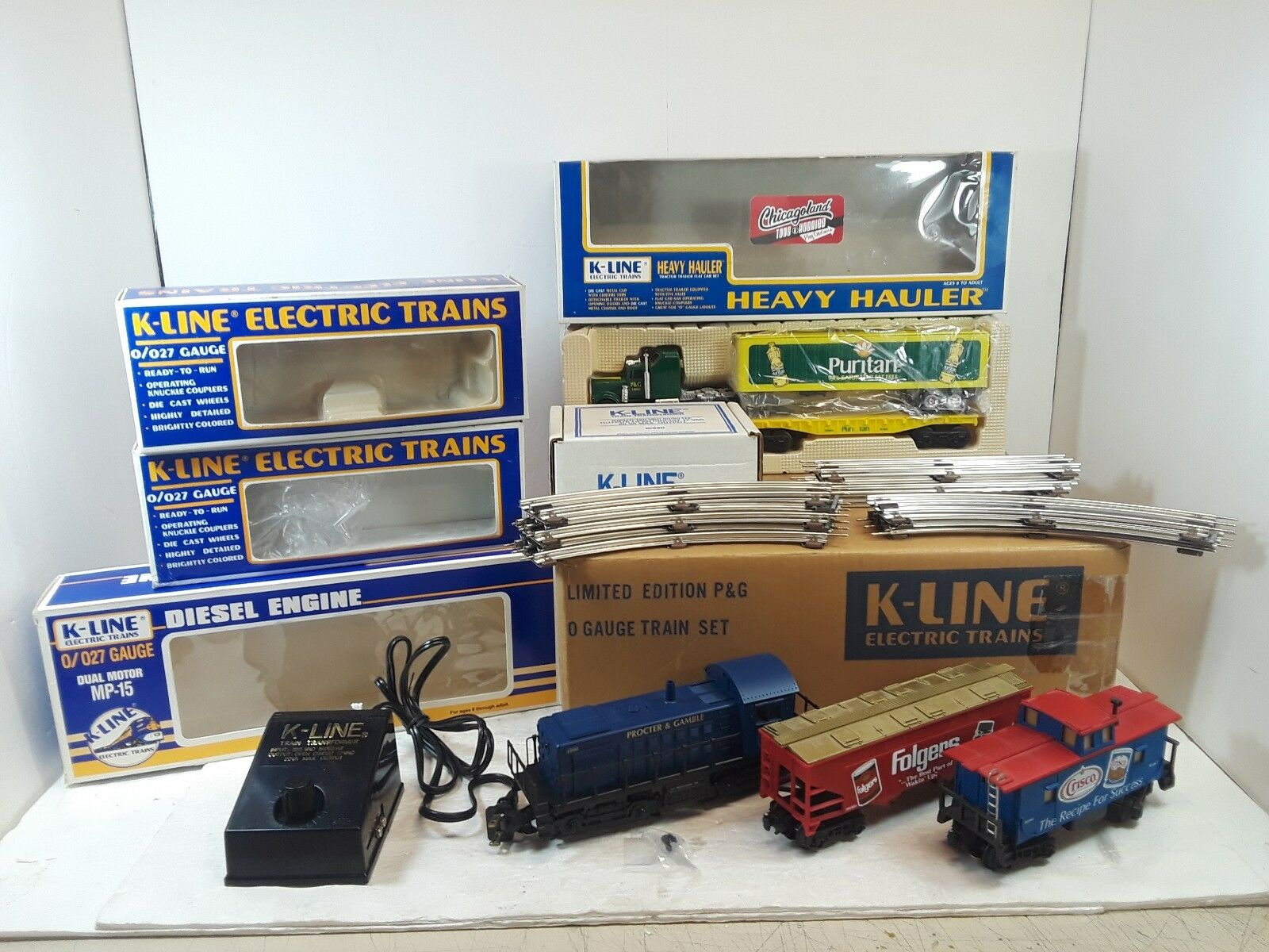 K-Line K1084 P&G Train Set