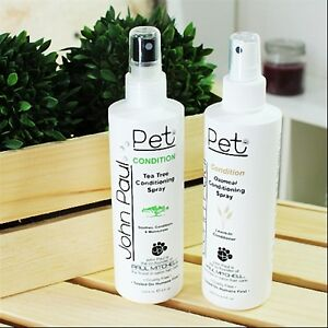 Luxury Pet Spa Conditioner Spray Tea Tree Amp Oat Meal Dogs