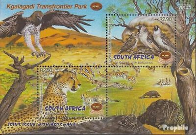 South Africa Block84 Fine Used complete.issue. Cancelled 2001 Flora Of Kgala