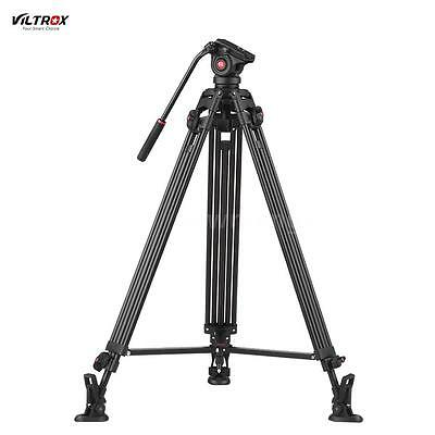 """VILTROX 75"""" inch Heavy Duty Video Tripod Stand with 360° Fluid Damping Ball Head"""