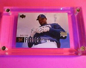 2006 Upper Deck Baseball Card #976 Prince Fielder RC ROOKIE GOLD FOIL #d/299