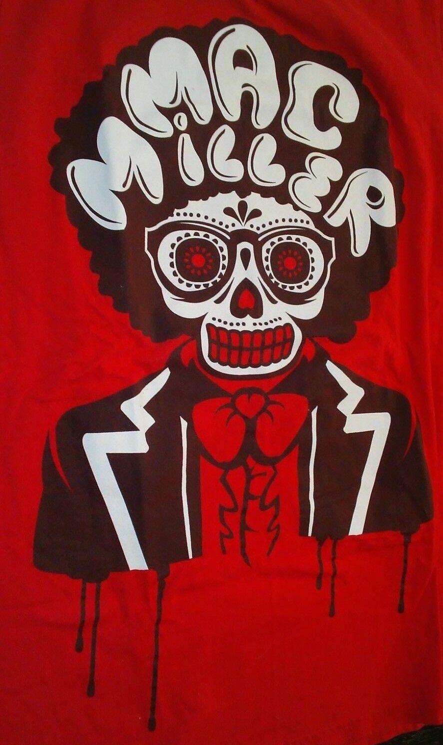 MAC MILLER MUSIC LEGEND 2012 UNDER THE INFLUENCE OF MUSIC CONCERT SHIRT SIZE S