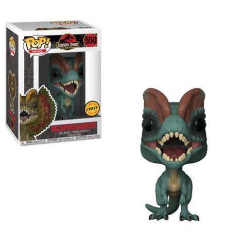 Jurassic Park Jagd Dilophosaurus 9.5cm Pop Filme Vinyl Figur Funko 550