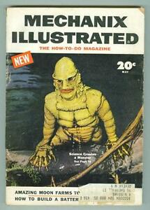 Mechanix-Illustrated-May-1954-VG-Creature-From-the-Black-Lagoon
