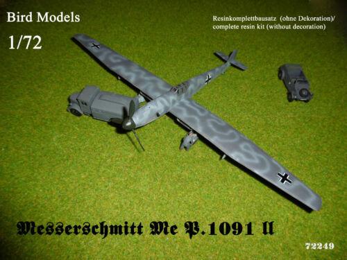 Messerschmitt Me P.1091 II 1//72 Bird Models Resinbausatz resin kit   neu new