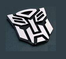Car bike 3D Sticker Silver Chrome Transformer H Shape BUY 2 GET 1 R LINE FREE