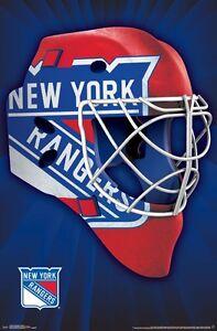 NEW-YORK-RANGERS-MASK-LOGO-POSTER-22x34-NHL-HOCKEY-15306
