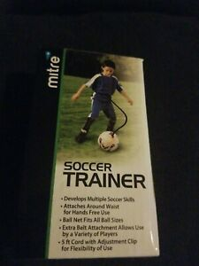 Belle Mitre Soccer Trainer Sports/compétences Open Box Développer Soccer Skills, S'adapte à Toutes Les-afficher Le Titre D'origine Toujours Acheter Bien