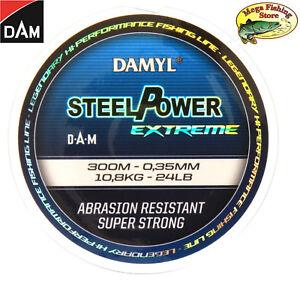 0,25mm 500m Mono Angel Schnur DAM DAMYL STEELPOWER X-TREME Monofilschnur