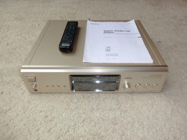 Sony scd-xa333es high-end SACD-Player, incl. fb&bda, optimizado, 2j. garantía