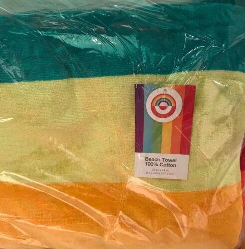 "Gay Pride Towel Rainbow Flag Beach Pool Souvenir 30/""x60/"""