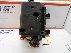 Details about 02-05 Chevy Trailblazer engine compartment fuse box panel on