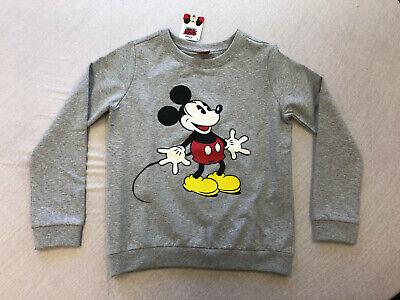 Compiacente Felpa Pullover Mickey Mis. 140/146 E 164/170 Nuovo-mostra Il Titolo Originale