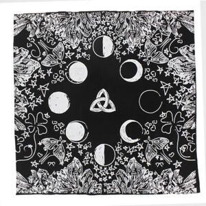 Handmad-Zodiac-Tarot-Cloth-Decor-Divination-Card-Wicca-Velveteen-Square-Tapestry