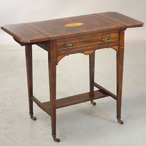 Groovy Details About Rosewood Side Table Sofa Table Antique C1900 Delivery Available Andrewgaddart Wooden Chair Designs For Living Room Andrewgaddartcom