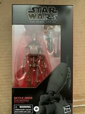 """BATTLE DROID #108 Star Wars Black Series 6/"""" Action Figure GEONOSIS RED AOTC 2020"""