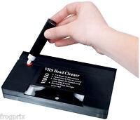 Cassette Video Vhs De Nettoyage Pour Magnetoscope Avec Liquide K7 Nettoyante