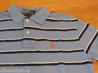 Men's Polo Ralph Lauren knit S sm polo shirt 0480795 kn lhydms2 NWT blue & navy