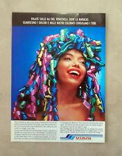 D376 - Advertising Pubblicità- 1988 - VIASA VOLATE IN VENEZUELA