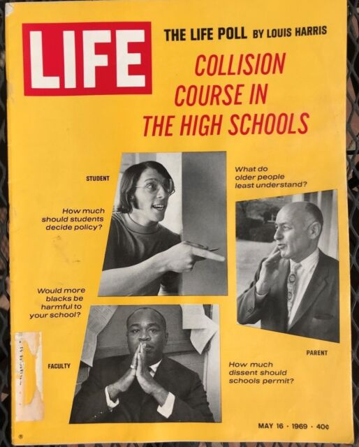 LIFE MAGAZINE May 16 1969 * Apollo 10&11 * Paul Newman* Crisis in High School #2