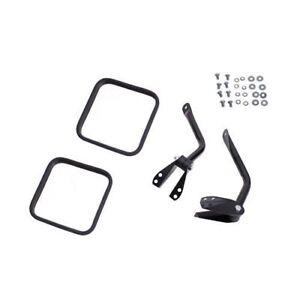 For-Jeep-Cj-Cj5-Cj7-55-86-New-Side-Mirror-Kit-Black-X-11001-02