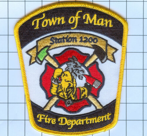 Fire Patch TOWN OF MAN STATION 1200