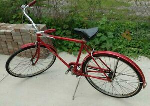 Vintage Schwinn Racer 26 inch 3 Speed Men's Bicycle, March1967