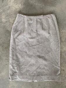 Lauren-Ralph-Lauren-Grey-Tweed-Wool-Angora-Below-Knee-Pencil-Skirt-14