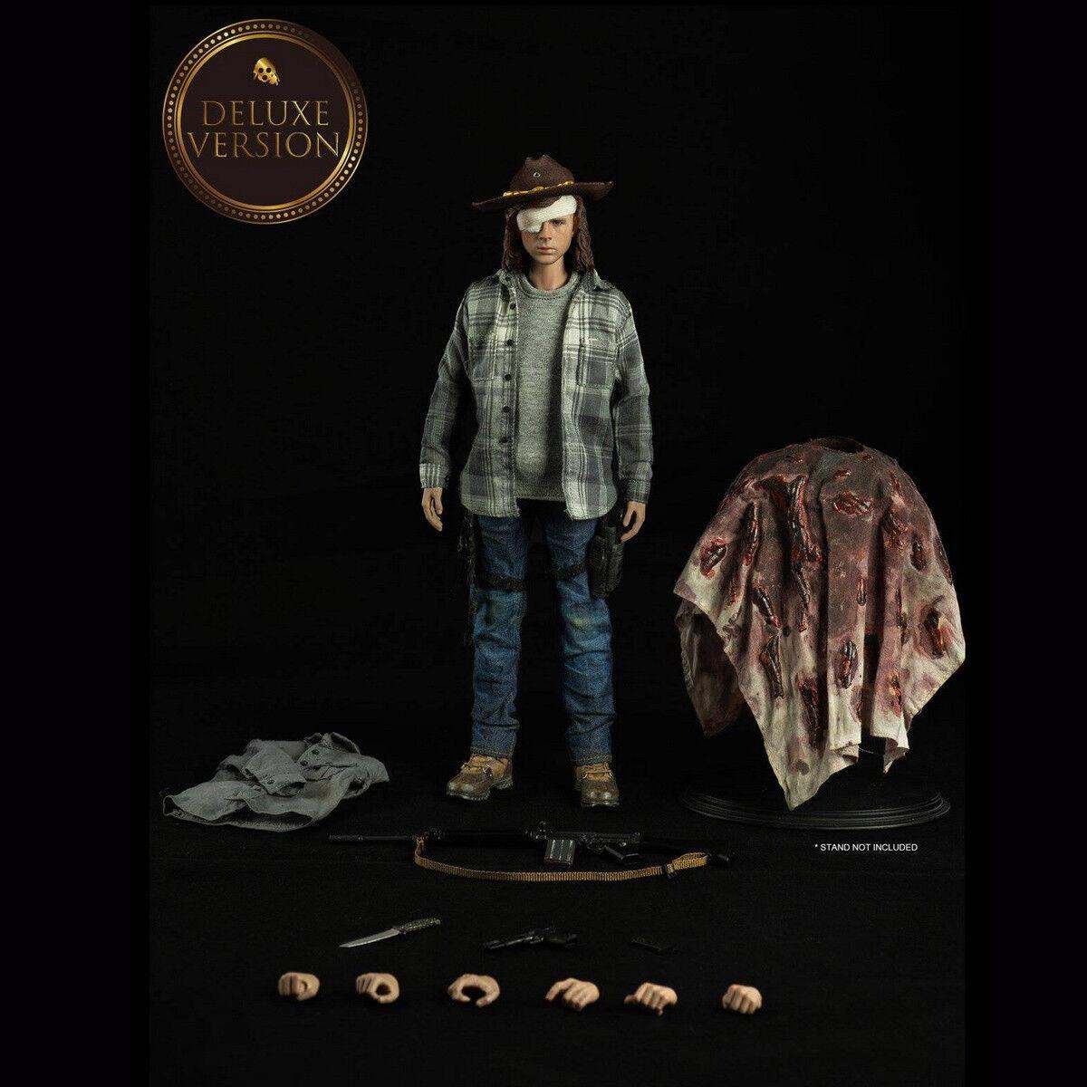 Threezero 3Z0062 1 6 The Walking Dead Carl Grimes Deluxe Version