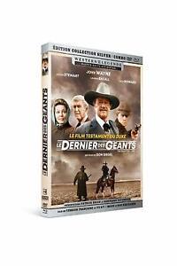 Le-Dernier-Des-Gigante-John-Wayne-Western-Legende-Combo-Blu-Ray-DVD-Nuevo