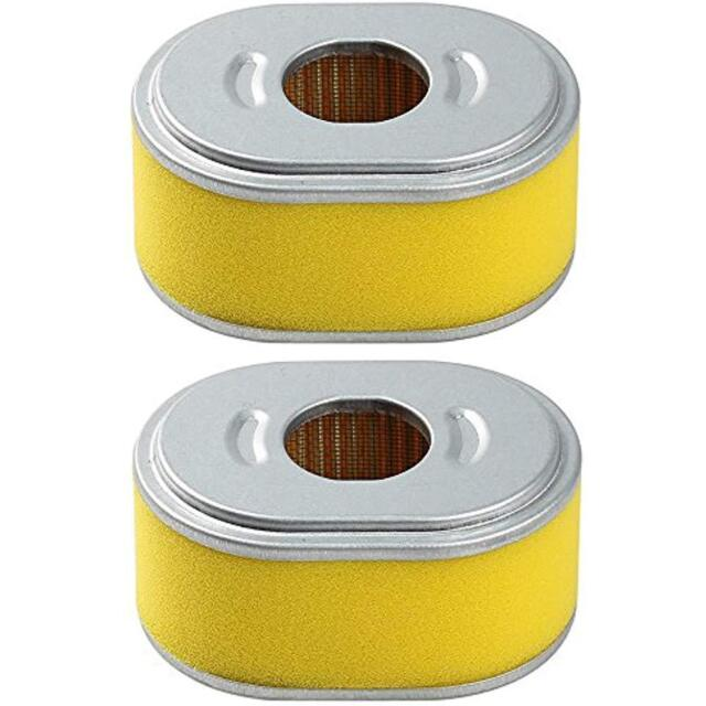 (Pack Of 2) Air Filter For HONDA GX110 GX120 Engine Replaces 17210-ZE0-821
