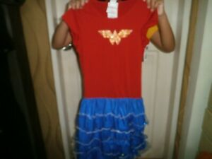 CLOSEOUT-SALE-Imported-FROM-USA-35-99-Wonderwoman-Dress-Girls-Large