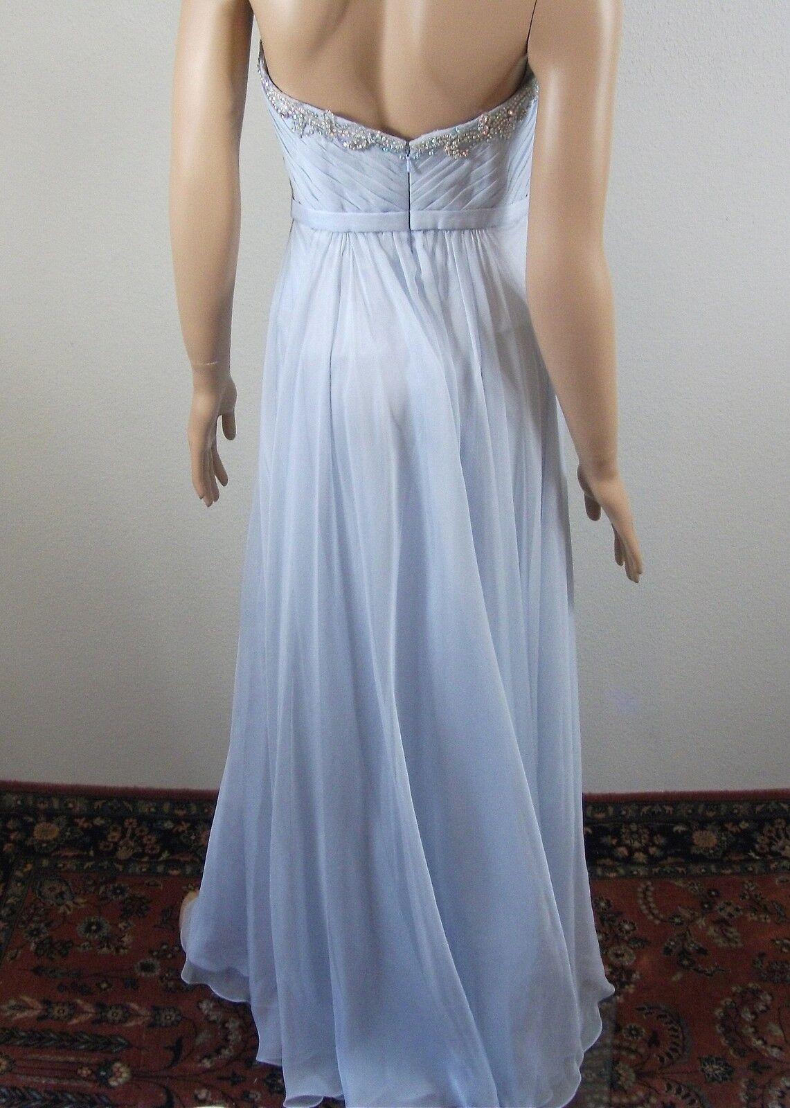 La La La Femme Crystal Embellished Gown Dress Size 4 b15b91