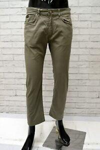 Pantalone-Uomo-TRUSSARDI-Taglia-Size-44-Jeans-Pants-Man-Cotone-Regular-Fit-Corto