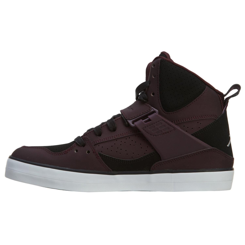 Air Jordan Flight 45 V Basketball shoes Burgundy   Black-White 683366-609 sz 12