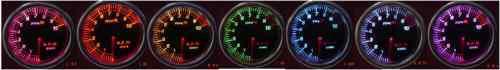 2 INCH 52MM OIL PRESSURE GAUGE TACHOMETER CAR TACHO METER with SENSOR UNIT