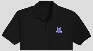 Triumph classic car themed embroidered polo shirt  Gildan