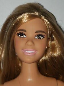 Barbie Doll AA 2020 Holiday Long Dark Hair Sweet Smile
