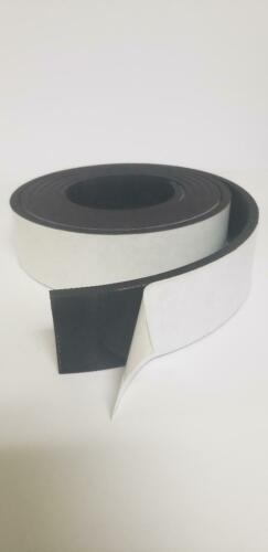 """NEOPRENE RUBBER ROLL  1//2/""""X2/""""X10FT PSA ADHESIVE ONE SIDE."""