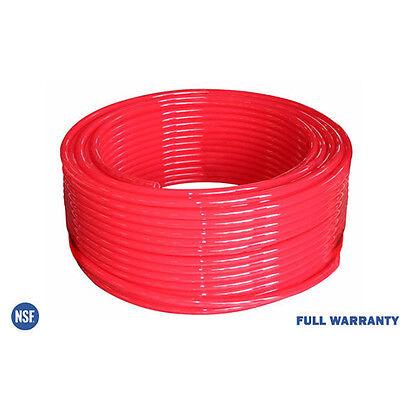 "3/4""x 300ft Potable PEX Tubing Non Oxygen Barrier Red Plumbing Application PEXB"