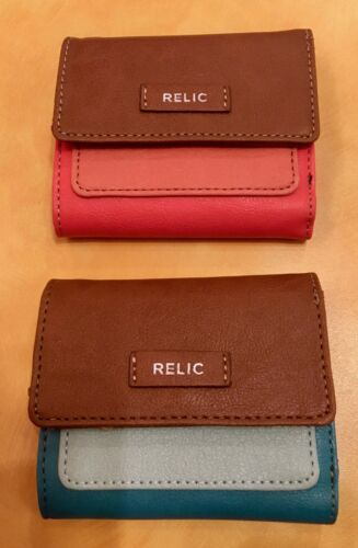 RELIC Bryce Trifold Wallet ASSORTED COLORS  New!