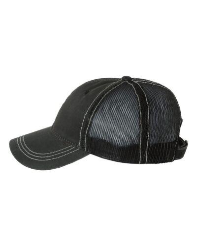 Outdoor Cap Weathered Cotton Mesh Back Trucker Hat HPD610M Baseball Cap