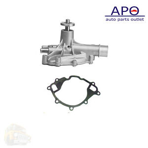 New Water Pump w//Gasket For 1979-1991 Ford Mercury Lincoln 4.2L 5.0L 5.8L AW4052