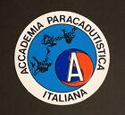 ADESIVO STICKER PLASTIFICATO - ACCADEMIA PARACADUTISTICA ITALIANA
