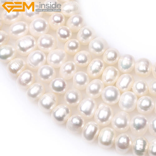 """Naturel près de cycle 5-6 mm Gemstone Freshwater Pearl Beads for jewelry making 15/"""""""