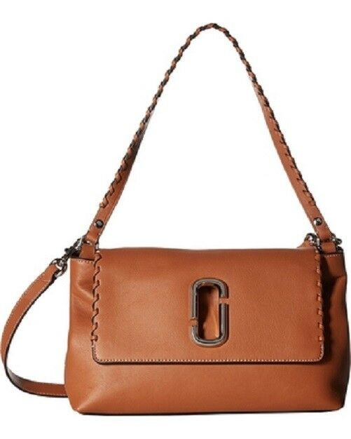 d2ac84ccd02 Marc Jacobs Noho Caramel Cafe Maple Tan Beige Leather Shoulder Crossbody Bag  for sale online | eBay