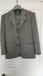 BOYS SUITS FORMAL WEDDING PARTY 3//5 PIECE WAISTCOAT JACKET TROUSERS 1-15Y BNWT