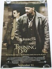 TRAINING DAY DS MOVIE POSTER ONE SHEET NEW AUTHENTIC